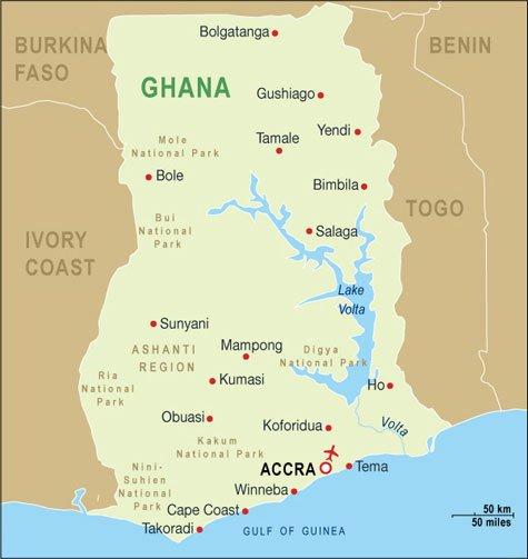 Mobile asphalt plant in Ghana