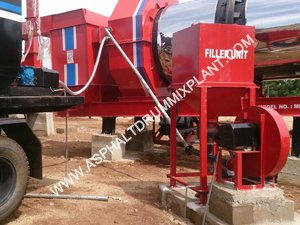 Plant mobile asphalt mix plant