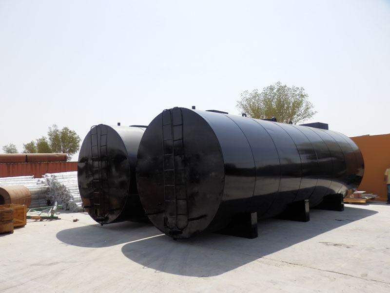 Bitumen Storage Tank, Asphalt Tank, Manufacturers India