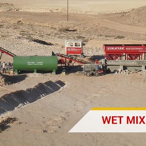Wet Mix Mecadam Plant India