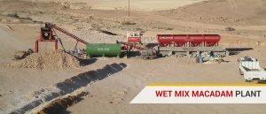 Wet Mix Mecadam Plant, Supplier in India