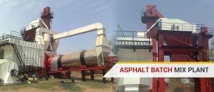 asphalt batch plant for sale, manufacturers, supplier in India