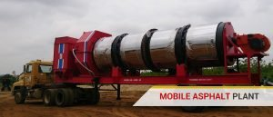 mobile asphalt plant manufacturers, supplier in India
