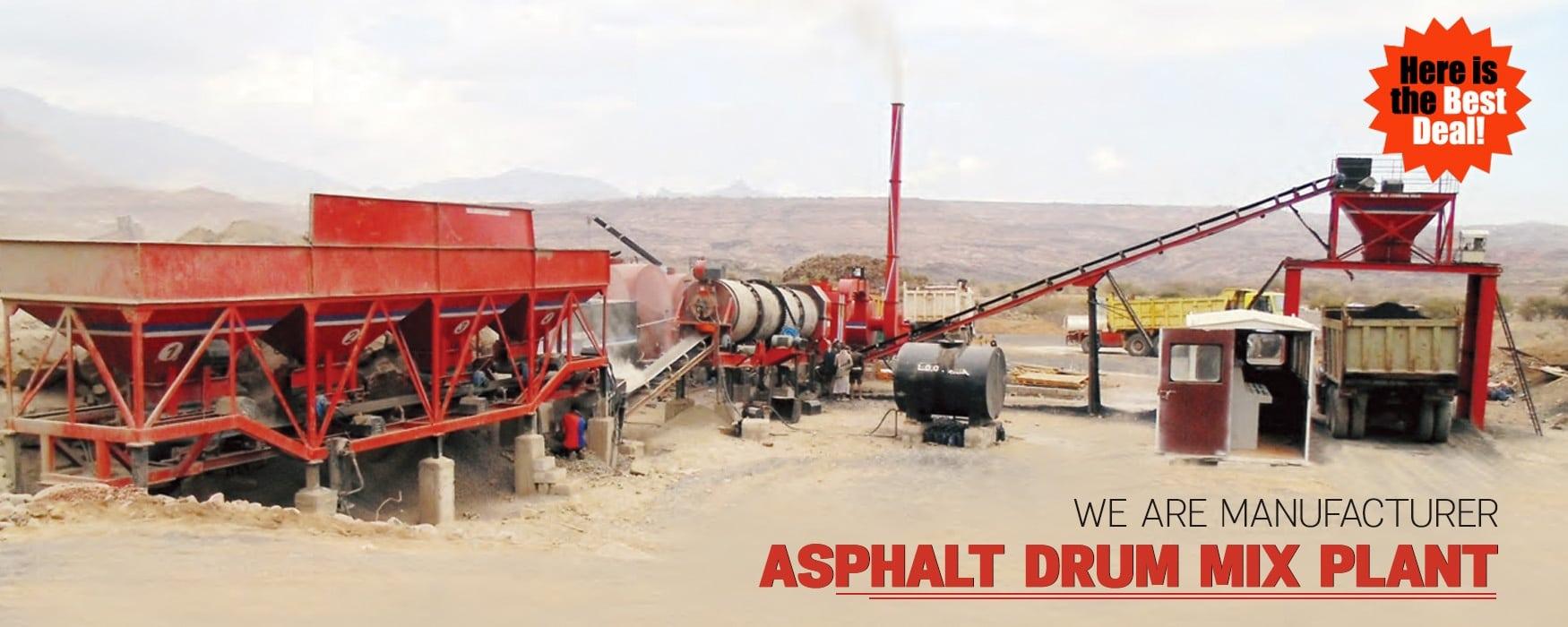 Asphalt drum mix plant, drum mix plant Manufacturer