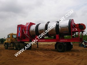 Mobile Asphalt Drum Mix Plant India